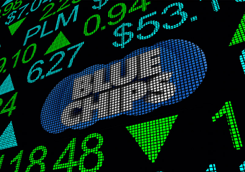 What makes Bluechip Funds a safer investment option?